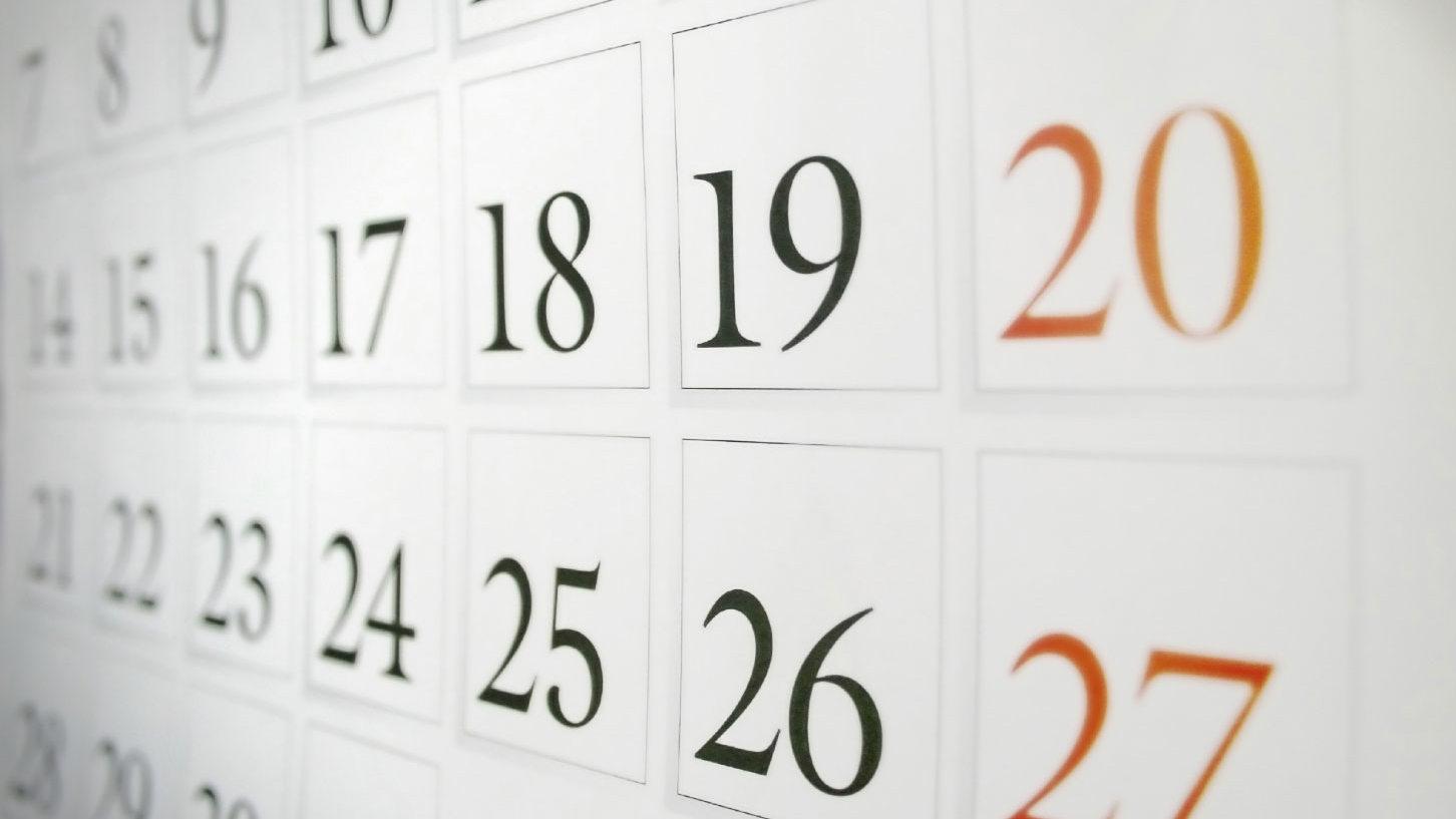 Modifica al calendario, annullamento gara in settembre